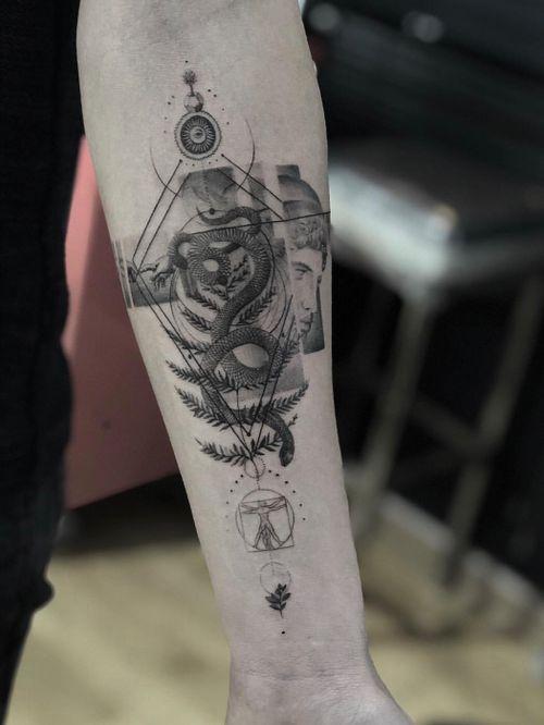 #tattooartist #tattooart #Black #blackandgrey #blackwork #ink #Tattoodo #nyc #alianilercel