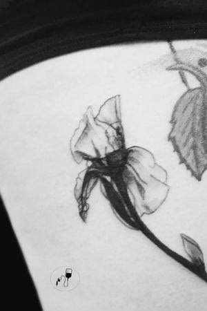 X-ray Iris #X-raytattoo #X-ray #Iris #Irisflower #flower #leslieville #Toronto #Gerrard