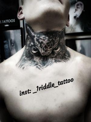 Black and grey tattoo work
