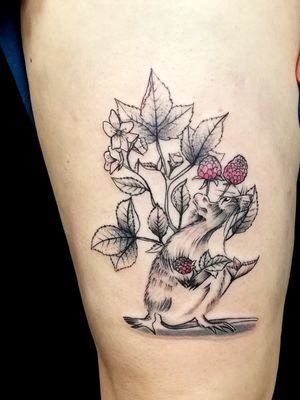 #rat #rattattoo #vegantattoo