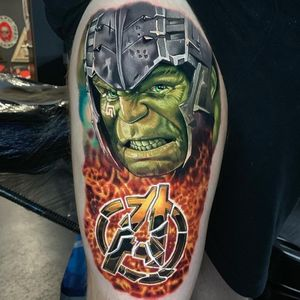 #Hulk smash! This #marvel piece was done over 2 days.