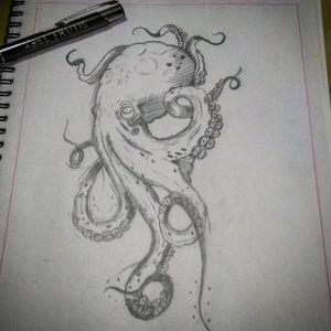#tattoooctopus #krakentattoo