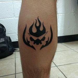 The Gurren Lagann team symbol from Tengan Toppa Gurren Lagann. Just who the hell do you think I am!?