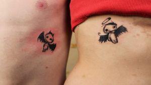 #tats #tat2 #tattooangel #tattoodemon #tattoorashkent