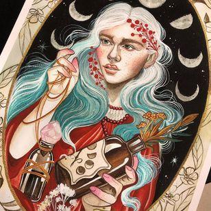 Tattoo by Lorena Morato #LorenaMorato #InternationalWomensDay #WomensHistoryMonth #femaleartists #femaletattooist #femaletattooartist #empower #support #solidarity #love