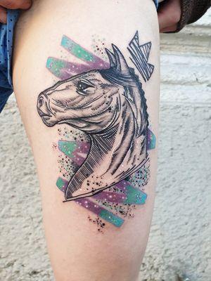 #kuro #kurotrash #tattoo #tattooing #tattoos #tattooed #tattooer #black #blackandwhite #blackwork #blackworkers #ink #inked #darkartists #darkart #onlythedarkest #blackarts #blackink #insta #instaphoto #tattooart #tattooartist #vienna #wien #balloons #watercolour #watercolor #sketch #tattooist #horsetattoo #horse #graphictattoos #graphic