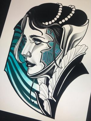 Tattoo by Vale Lovette #ValeLovette  #InternationalWomensDay #WomensHistoryMonth #femaleartists #femaletattooist #femaletattooartist #empower #support #solidarity #love