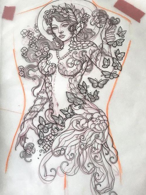 Tattoo by Miss Juliet #MissJuliet  #InternationalWomensDay #WomensHistoryMonth #femaleartists #femaletattooist #femaletattooartist #empower #support #solidarity #love