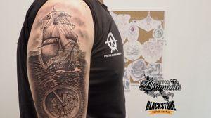 #barco #ship #brujula #compass