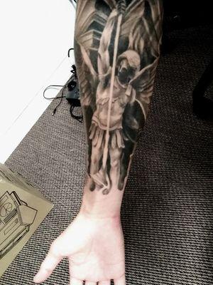 My tattoo. Archangel St-Michael #stMichel #archangelmichael #archangel
