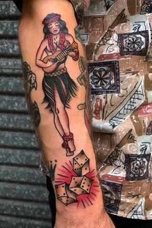 Couple of classic jerry bangers. #flash #bold #trad #traditional #traditionaltattoo #tattooartist #tattooart #bold #BoldTattoos #boldwillhold #classictattoos #vintage #goldcoastaustralia #australia