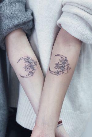 #tattoo #coupletattoo #dotwork #fineline