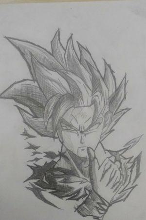 Goku #rastelado #ssj2