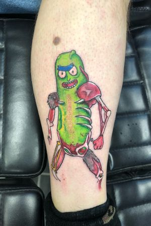 Pickle Rick session1