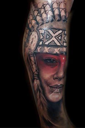 Portrait com montagem . #deefreitas #realismo #realistic #thebesttattooartist #india #indiatattoo #realismopretoebranco #tattoorealismo #blackandgreytattoo #blackandgrey #realism