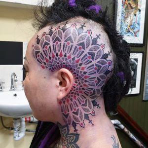 Tough as heck client Swirlywanxsinatra@gmail.com #tattoo #blackandgrey #mandala #dotwork #lanternandsparrow #brisbane #brisbanetattoo #blackworktattoo #blackwork #geometrictattoo #geometric #sydneytattoo #sydney #australiantattoo #ritalinpower #brisbaneartist #btattooing #brisbanetattooartist