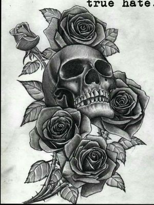 I want this one on my left thigh with a purplish tinted back ground