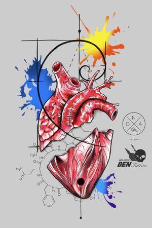 #heart #hearttattoo #designtattoo #tattooart #tattooartist