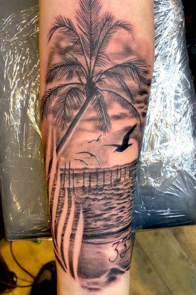 @green_pearl_tattoo #melfortat #braunschweigtattoo #greenpearltattoo #tattoo #tattoos #tttism #ink #inked #bnginksociety #tattoolife #tattoolovers #inkstagram #blackandgreyrealism #tattoooftheday #beach #vacation #sunset #Braunschweig #tattoodesign #inkjunkeyz @realistic.ink @realistic.tattooos