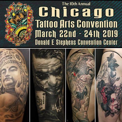 #chicagotattooconvention #chicagotattoo #chicagotattooshop #chicagochinatown #tattoounion