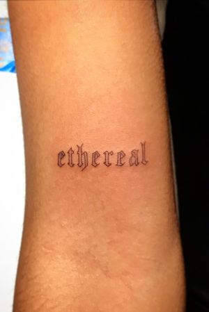 #minimalist #lettering #oldschool #oldEnglish #ethereal