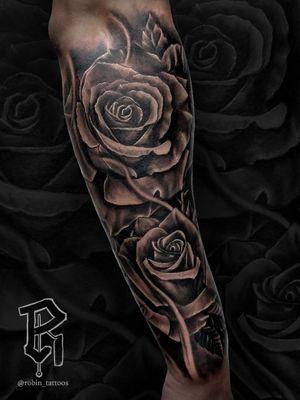 For Bookings email at robinstattoos@gmail.com . . . . . . . . . . . . #blackandgreytattoo #newjerseytattoos #newjersey #realism #realismtattoo #nyc #nyctattoo #tattooartist #rose #rosetattoo