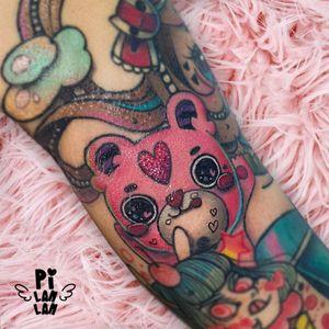 🐻🐻🐻 #plinthespace #bear #beartattoos #tattoo #ink #紋身 #刺青 #sparkletattoo #tattooartist #artist #love #sweet #superkawaii #supercutetattoos #supercutetattoo #kawaiitattoos #kawaii #cute #art
