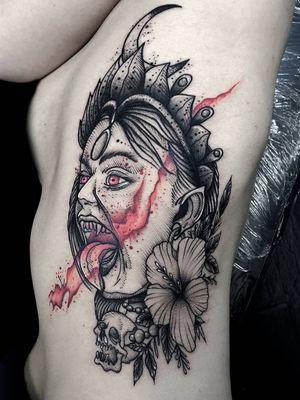 #kurotrash #tattoo #tattooing #tattoos #tattooed #tattooer #black #blackandwhite #blackwork #blackworkers #ink #inked #darkartists #darkart #onlythedarkest #blackarts #blackink #insta #instaphoto #tattooart #tattooartist #vienna #wien #hindu #god #kali #tattooist #blood