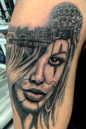 Portriat woth the vancity skyline 😉🥰