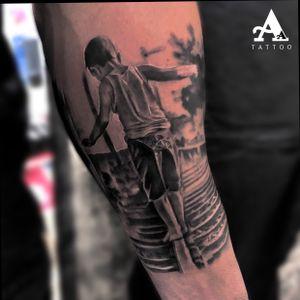 Tattoo realizado ayer by Antonio Alarcon