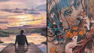 Tattoo on the left by Kozo Tattoo and tattoo on the left by Deborah Genchi #DeborahGenchi #Kozotattoo #naturetattoo #nature #animal #plants #environment
