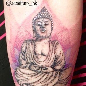 Dotwork Buddha #dotworktattoos #dot #buddha #zen #meditation #lotus