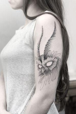 Buho #darkartists #tatuadorescolombianos #sketch #tatuadoresbogotanos #tattrx #blackworkershero #inkstinctsubmission #bangbangnyc #blackworkerssubmission #tattooinkspiration #ttblackink #art_collective #arts_help #TATTOOTODO #anibal_tattoo #tattooartist #nyc #nyctattoos #blxink #stabmegod