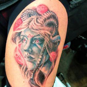 Tattoo by Sabina Tattoo Veronica Rao