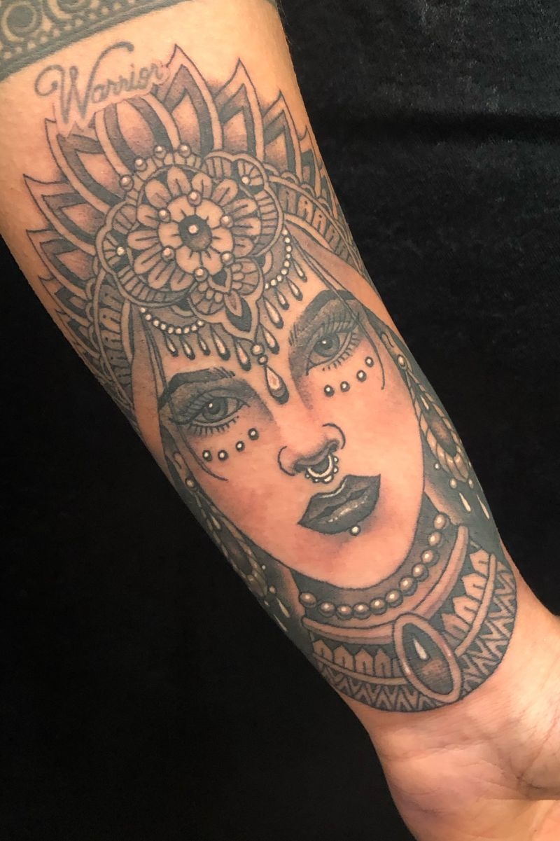 Tattoo from Orrin Hurley