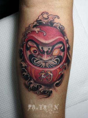 Daruma doll. #tattoo #tattooph #tattoos #tattedlife #tattooart #tattooist #tattooartist #ink #inked #inkedup #inkedmag #tattooed #tattooer #gothic #gothicart #gothictattoo #darkart #darkartist #darktattoo #gothicartist #patrontattoo #davaotattoo #daruma #darumadoll #darumadolltattoo #japanesetattoo #japanesetattooart #patrontattooph