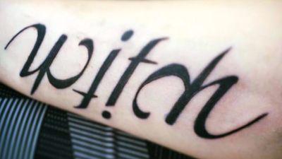 #Witch #Ambigram