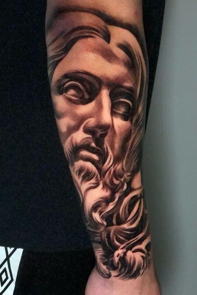 Done With @bishoprotary For APPTS please email 🚨🚨at📆⬇️⬇️ Marko.artist.inquiries@gmail.com * * @bishoprotary @tacsciences @stencilstuff @sullenclothing @inkeeze @dipcaps @hustlebutterdeluxe #eyebrows #eyelashextensions #realism #statuetattoo #sculpture #poseidon #tacsciences #bishoprotary #tattoo #bodyart #inkmaster #blackwork #sleevetattoo #stencilstuff #marko_artist #sacredanchortattoo #realism #southerncalifornia #socal#blackandgrey #tattooed #tattoocollector #tattoolove #tattooflash #tattoostudio #tattooedgirl #tattooedgirls #tattoosofinstagram #tattoooftheday