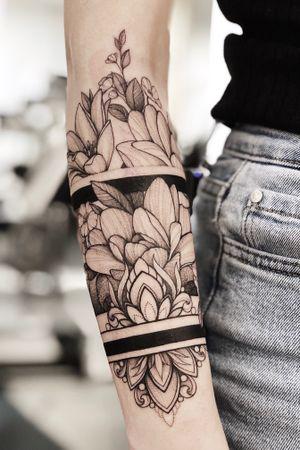 #armband #floral