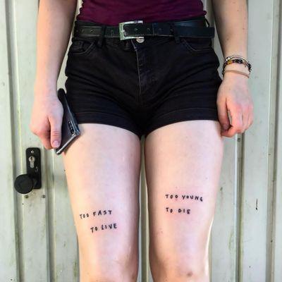 #ignorant #ignorantstyle #knees