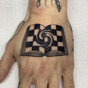 Tattoo by Inaki Aires #InakiAires #blackwork #linework #fineline #surreal #spiritual #illustrative