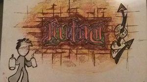 Livefast/Dielast Ambigram