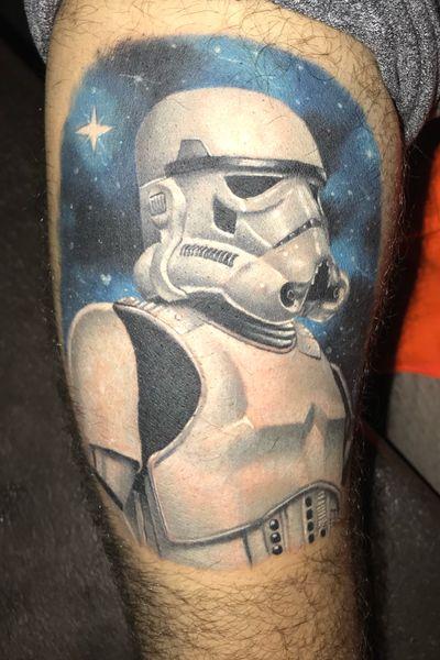 1st tattoo. StormTrooper #starwars #stormtrooper