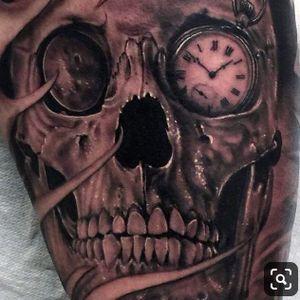 #skull #watch #pocketwatch