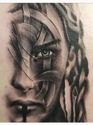 Black and grey realism/Celtic