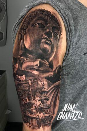 #tattooartist #spnttt #bcnttt #thebesttattooartists #tattoorealistic #tatuajes #tattoo #tattooart #inklife #inked #ink #tattooculture #tattoodo #tattoolife #inkedmag #tattoolifemag #inkedup #tattooistartmag #radtattoos #barcelonatattoo #tattoooftheday #skinartmag #tattoosocial #buddhatattoo #spaintattooartist #spanishrealistictattoos #tattoo_spain #spaintattoo #buddha