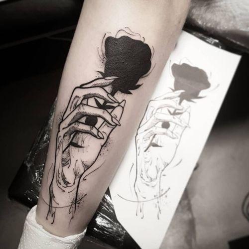 Done at @Insane_Ink_Tattoo_Shop  #tattoodo #blackwork #featured #goodartist #linework #tattoo2me #tattooinkportugal #tattoostudio #amadora