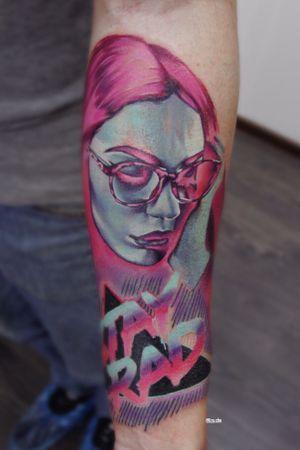 #tattoo #ta2 #TA2BODY #tattooartist #color #lizache #neontattoo #girltattoo #portrait #realism