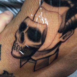 Neontraditional skull, follow me on instagram @ricky_bobby305