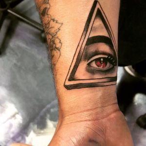 Sacred Eye for my client. Follow me on instagram @ricky_bobby305